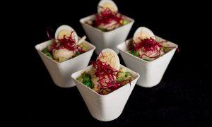 Asian Bites - Gadogado salade met pinda's en groenten