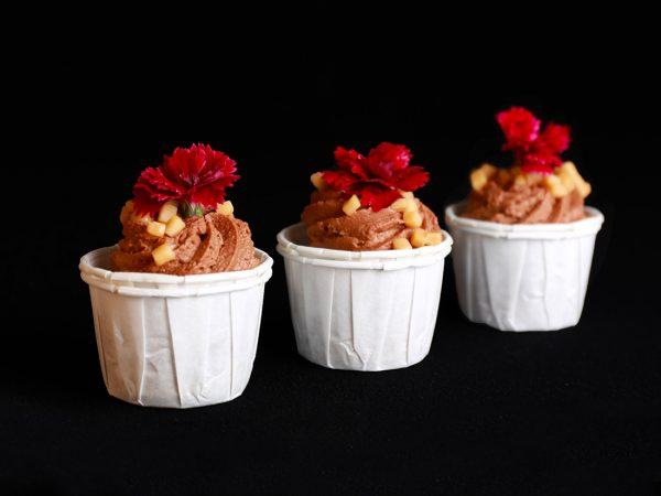 Sweets for my Sweet - Bananencake met creme van toffee hapje