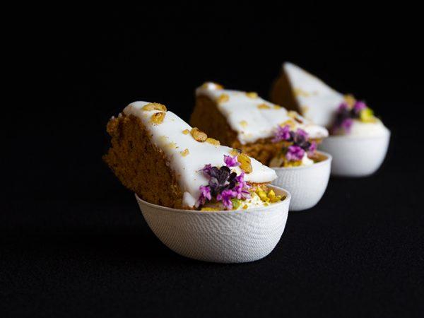 Sweets for my Sweet - Carrotcake met fondant hapje