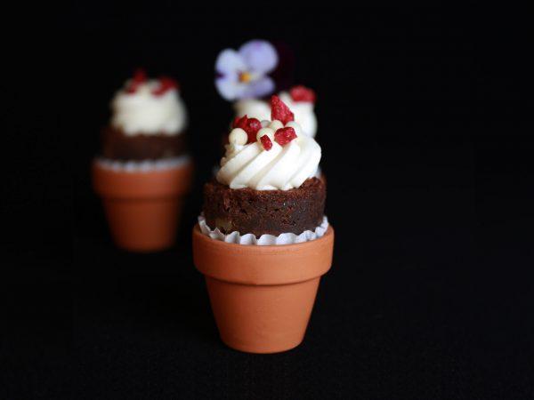 Sweets for my Sweet - Brownie met witte chocolademousse
