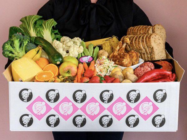 Mevrouw Kortekaas - Weekbox overzicht ingrediënten